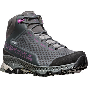 La Sportiva Stream GTX Surround Shoes Women Carbon/Purple